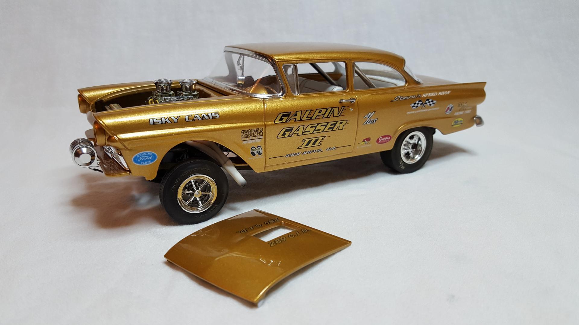 Ford 1957 Revell 20170710