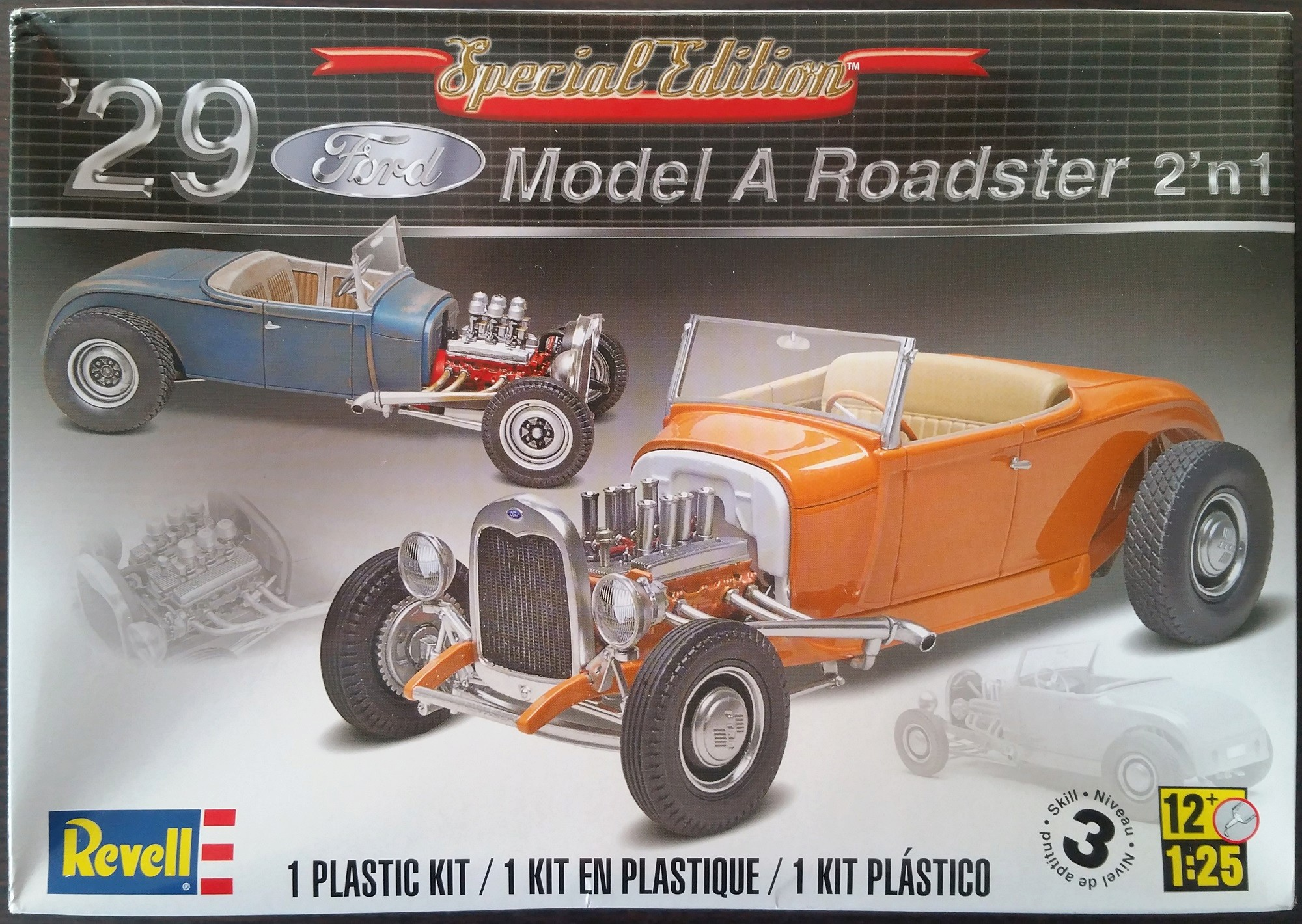 Revell Ford Model A 29 Roadster Ford_m12