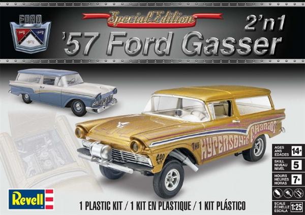 Recherche 57 Ford Custom Revell et la Ford 57 Gasser Rmx-4310