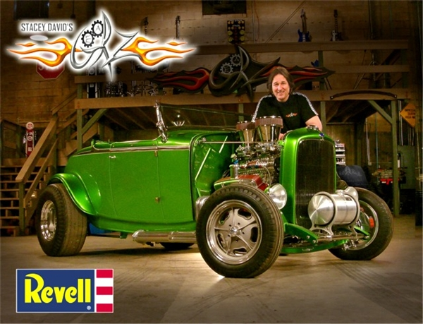 Revell Ford Model A 29 Roadster Rmx-4910