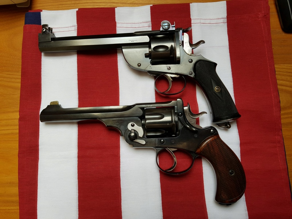Revolver DD Levaux Match calibre 450 20210841