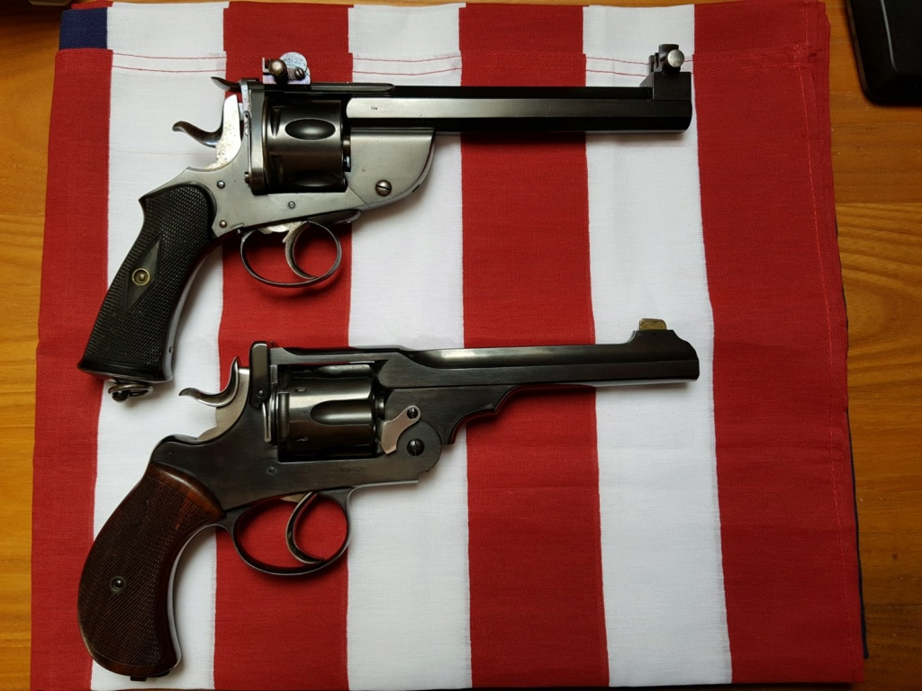 Revolver DD Levaux Match calibre 450 20210842