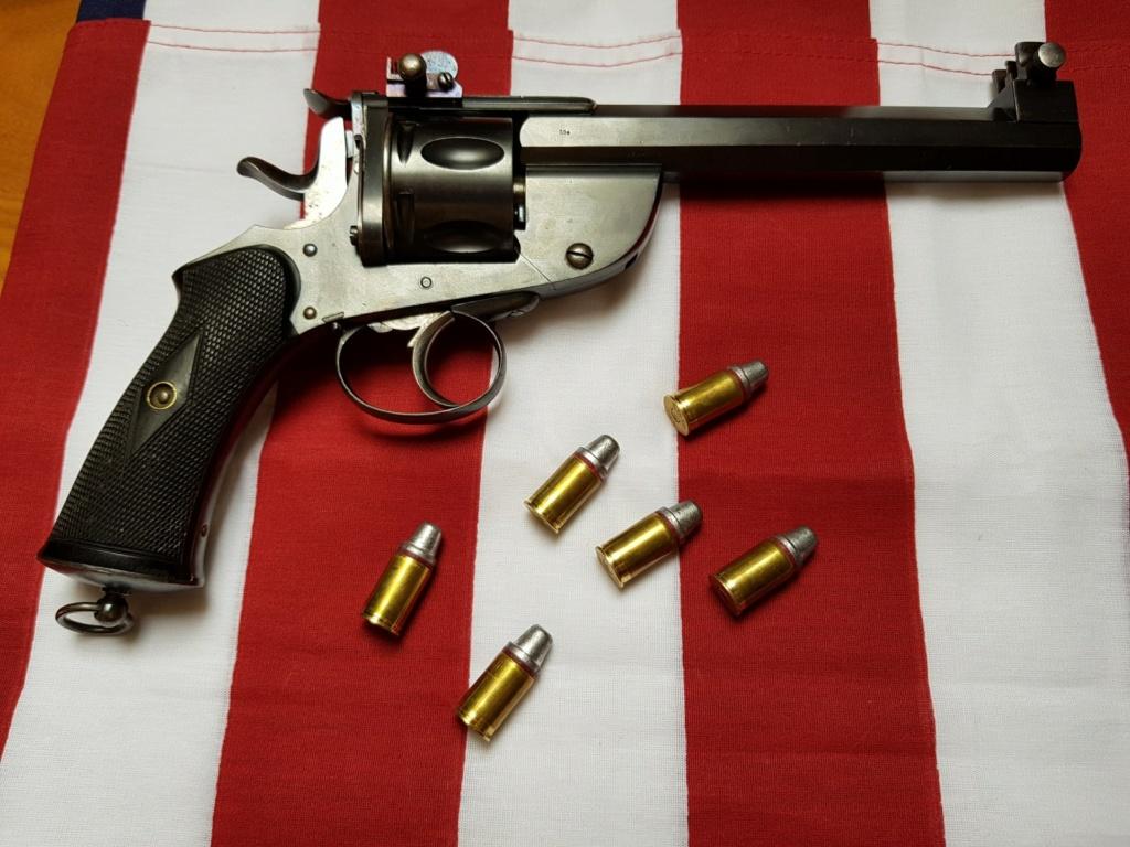 Revolver DD Levaux Match calibre 450 20210843