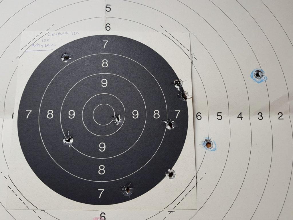 Revolver DD Levaux Match calibre 450 20210862
