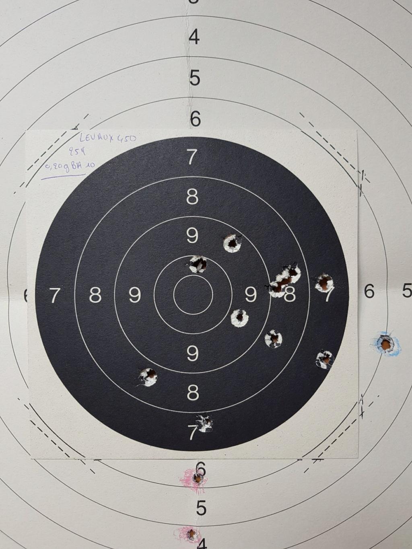 Revolver DD Levaux Match calibre 450 20210863
