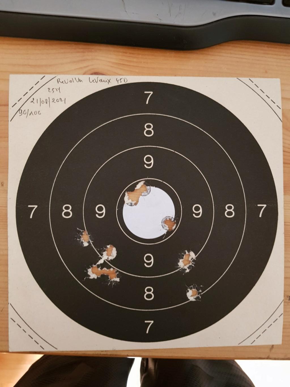 Revolver DD Levaux Match calibre 450 20210866