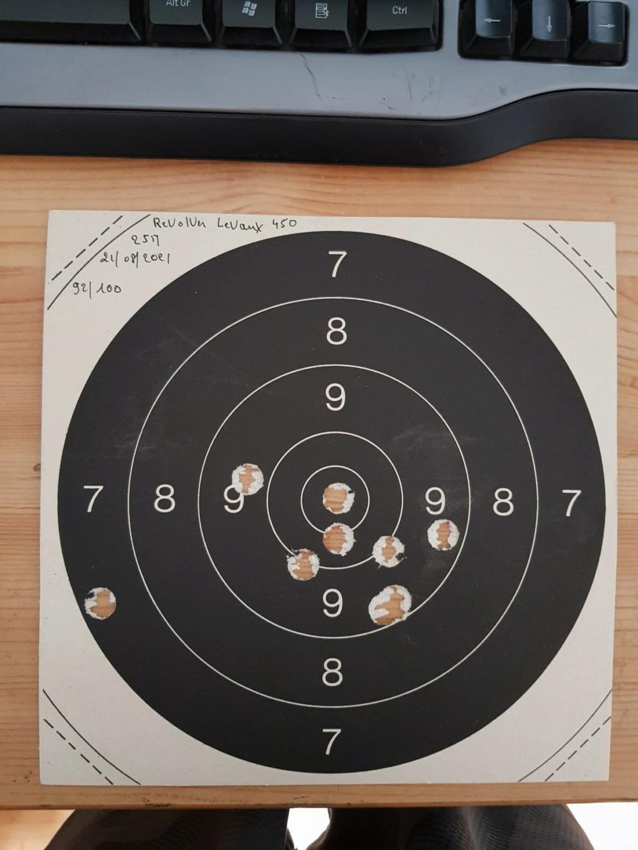 Revolver DD Levaux Match calibre 450 20210867