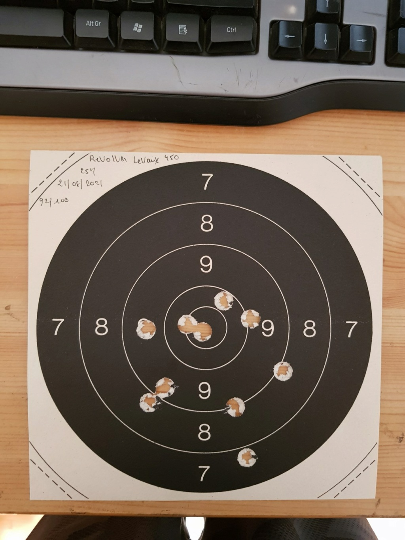 Revolver DD Levaux Match calibre 450 20210868