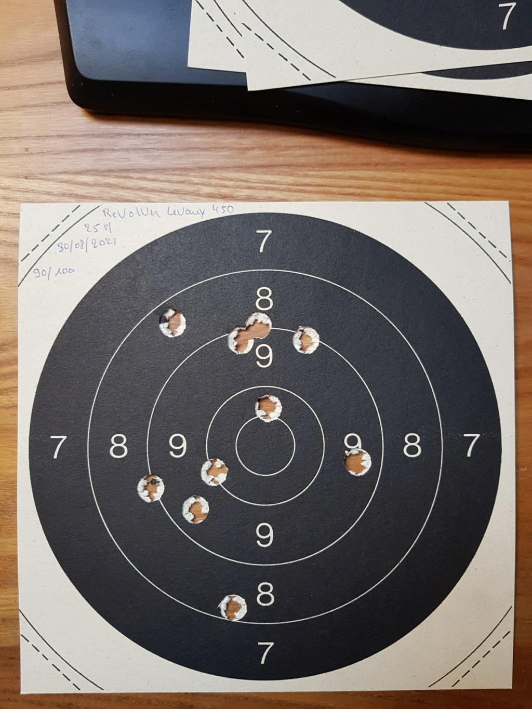 Revolver DD Levaux Match calibre 450 20210869