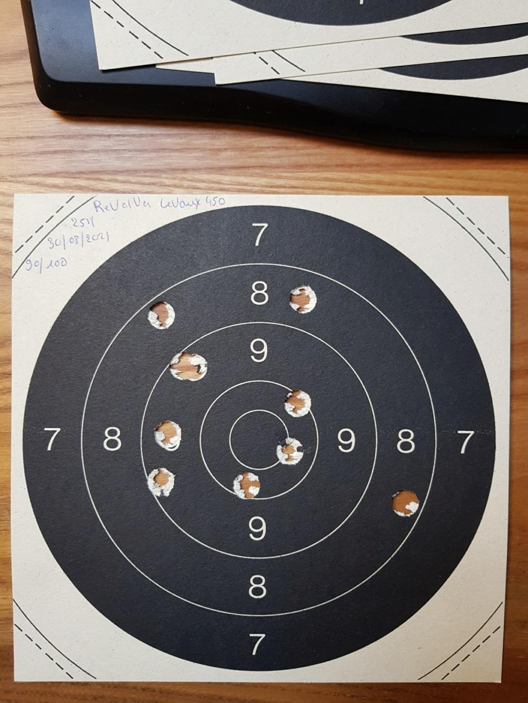 Revolver DD Levaux Match calibre 450 20210870