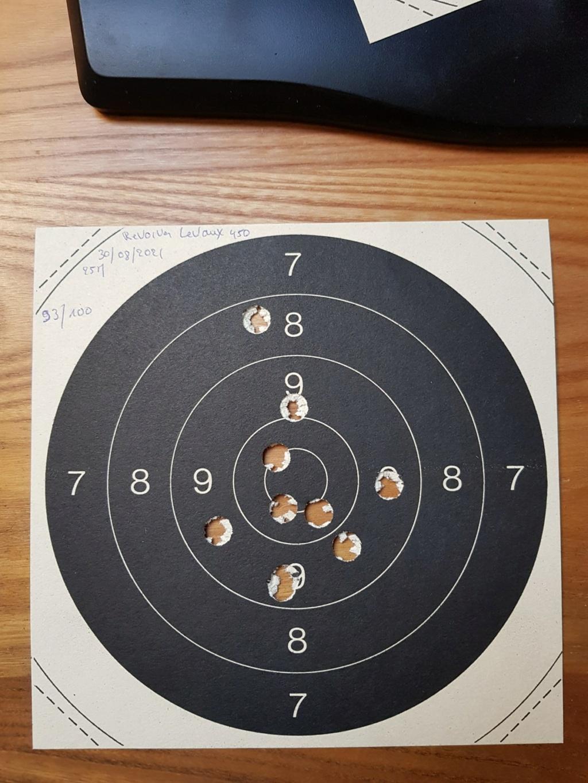 Revolver DD Levaux Match calibre 450 20210872