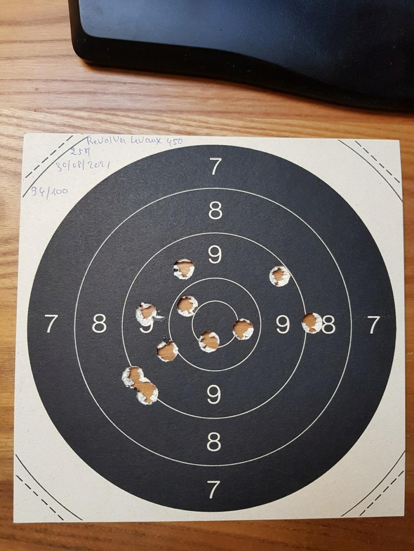 Revolver DD Levaux Match calibre 450 20210873