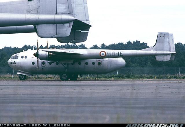 Noratlas n° 23 - Mise en sevice le 4 mai 1954 - hors service le 10 août 1981 19074210