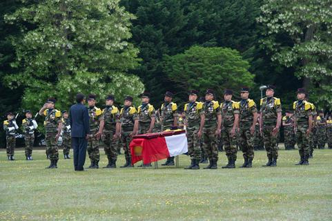 Hommage au caporal Alexandre Rivière, mort pour la France Honneu11