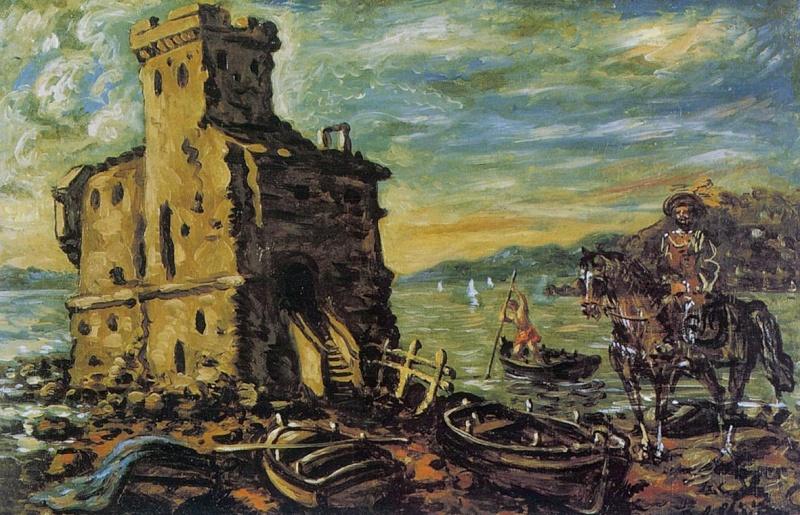 """FIESOLE """"Isole del pensiero"""" Böcklin-de Chirico-Nunziante - Pagina 4 033de210"""