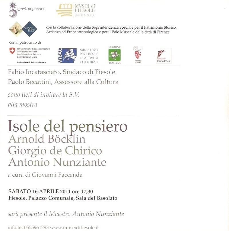 "FIESOLE ""Isole del pensiero"" Böcklin-de Chirico-Nunziante - Pagina 5 2011fi11"