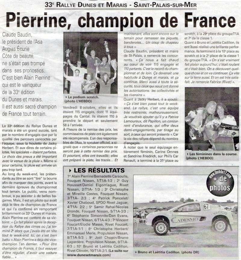 dunes - L'HEBDO - Article Dunes 2010 Dunes_10