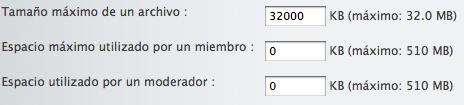 Cambiar el limite de tamaño de los archivos a subir. 1_tiff13