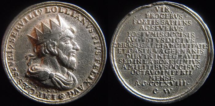 Faux, Copies , Reproductions modernes et Médailles commémoratives - Page 3 Lelien10