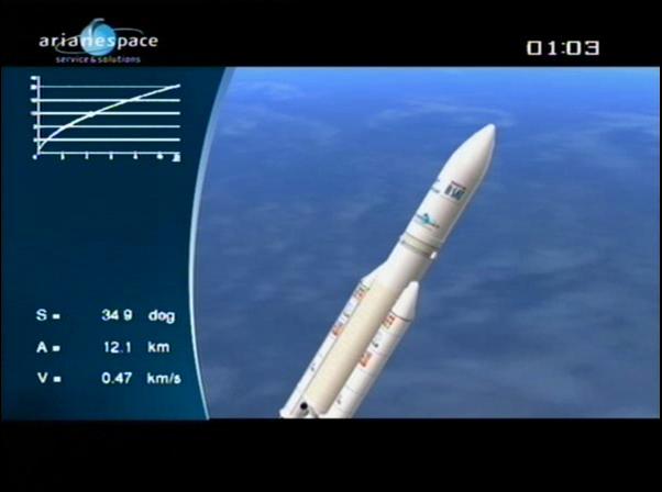 Ariane 5 ECA V197 / Eutelsat W3B + Bsat 3B (28/10/2010) - Page 4 Vlcsn101