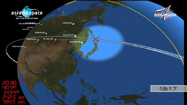 Soyouz 2-1A / Globalstar-2 (lancement le 19/10/2010) - Page 2 Vlcsna24