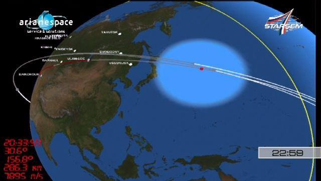 Soyouz 2-1A / Globalstar-2 (lancement le 19/10/2010) - Page 2 Vlcsna25