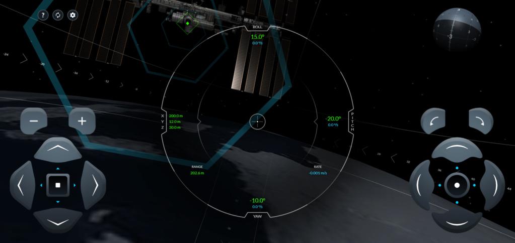 Simulateur d'amarrage du Crew Dragon avec l'ISS 2020-037