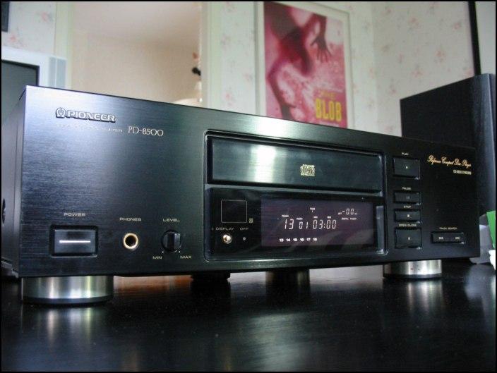 PIONEER PD 8500 - lettore cd tutt'altro che vintage :-) Pionee10