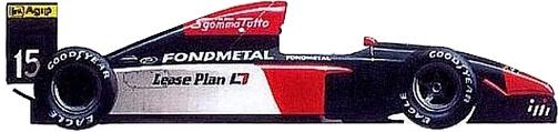 Campeonato 1992 Eleccion de Escuderias. Fondme10