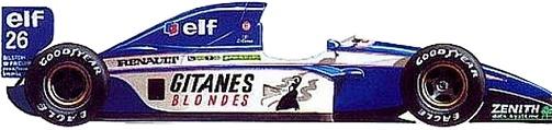 Campeonato 1992 Eleccion de Escuderias. Ligier10