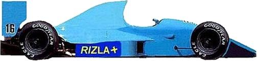 Campeonato 1992 Eleccion de Escuderias. March_10