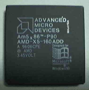 Процессоры AMD для 486 платформ 5n86-110