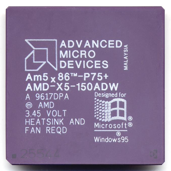 Процессоры AMD для 486 платформ 5n86-111