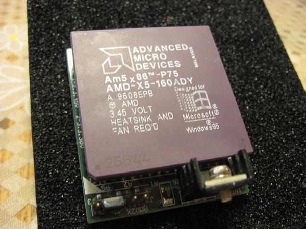 Процессоры AMD для 486 платформ 5x86-110