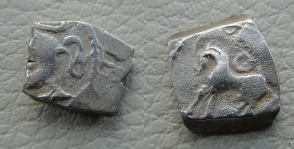 Drachme au cheval et au fleuron (Rutènes) [WM n° 7642] Drachm12