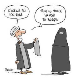 La dignité de l'homme exige qu'il porte la burqa. Delign10