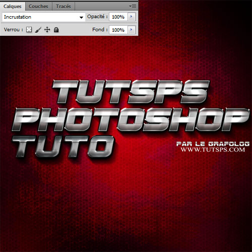 Créer un effet métallique sur texte avec Photoshop Creer_56