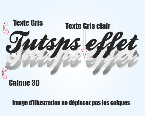 Les effets 3D sur texte avec Photoshop et Illustrator Les_ef31