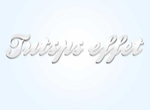 Les effets 3D sur texte avec Photoshop et Illustrator Les_ef34