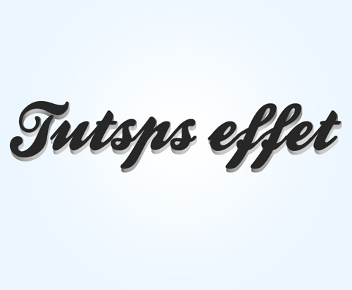 Les effets 3D sur texte avec Photoshop et Illustrator Les_ef35