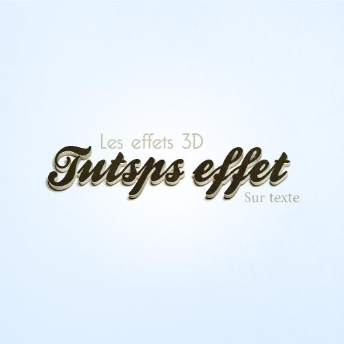 Les effets 3D sur texte avec Photoshop et Illustrator Les_ef47