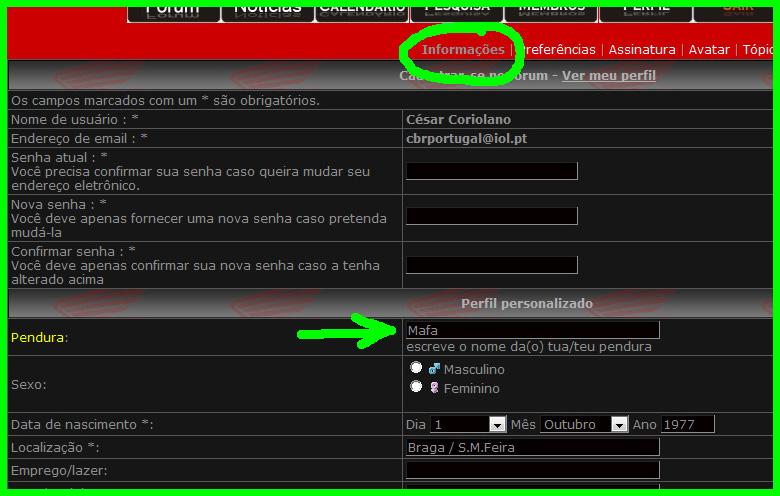 Identificação da PENDURA no Perfil Untitl11