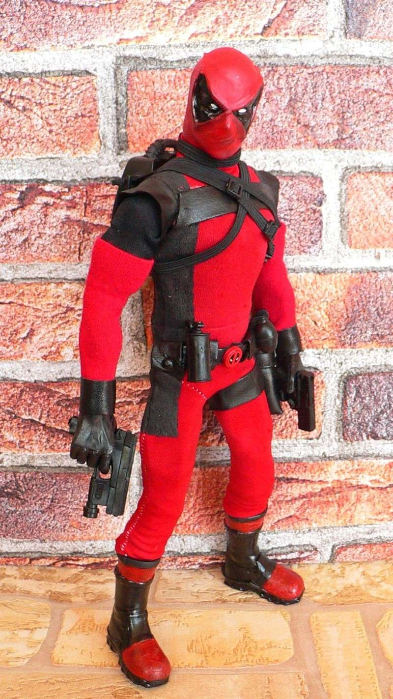 CUSTOM DEADPOOL 1/6, 12 INCH, 30 CM P1110121