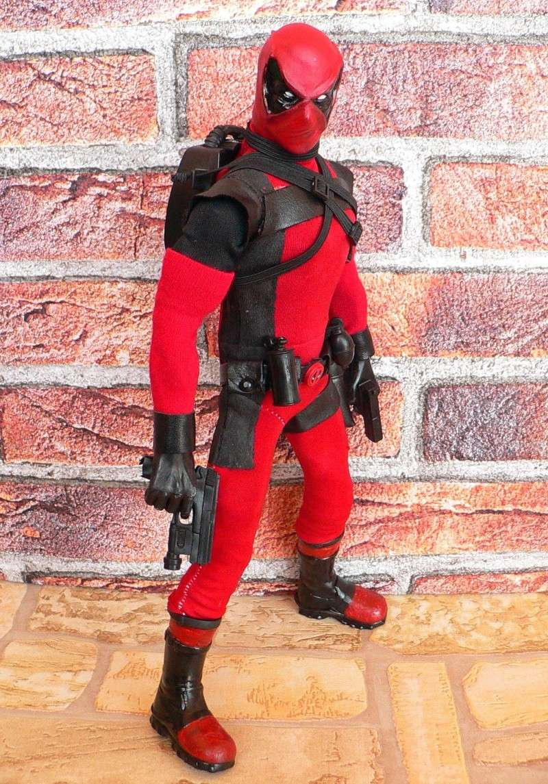 CUSTOM DEADPOOL 1/6, 12 INCH, 30 CM P1110123