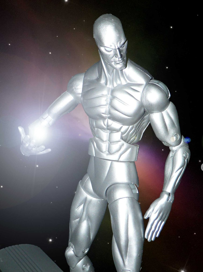 ICONS SERIES: SILVER SURFER CUSTOM Silver10