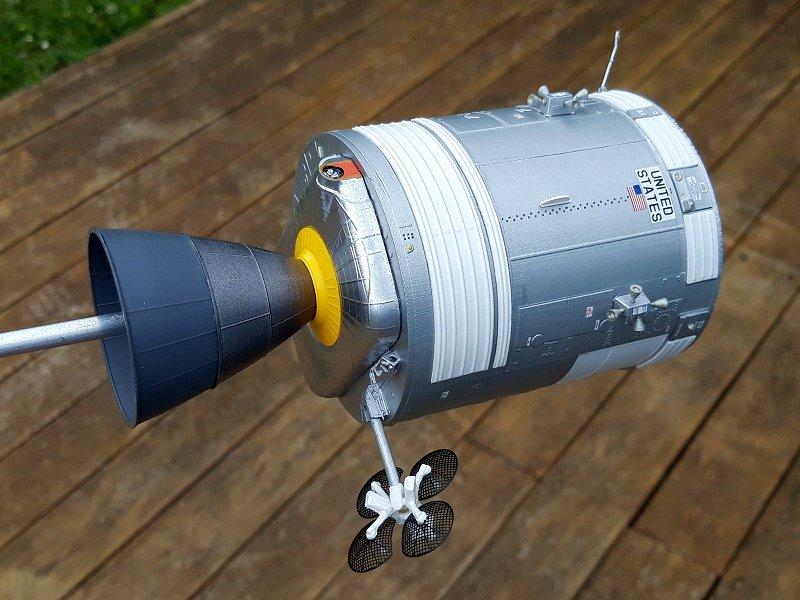 Apollo 12 au 1/48 : LM & CSM - Page 2 08810