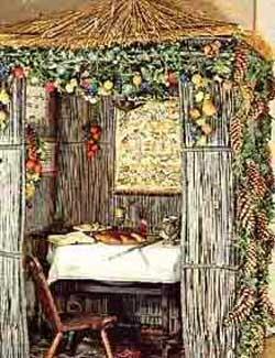 Fête juive : Souccoth, fête des huttes, Fête de la Joie éternelle Soucco11