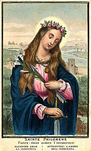 Pratiques de piété en l'honneur de sainte Philomène Philom10
