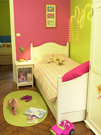 D co chambre fillette de 4 ans - Decoration chambre de bebe mixte ...