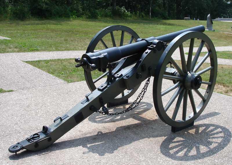 les armes de la guerre de secession Canon_12